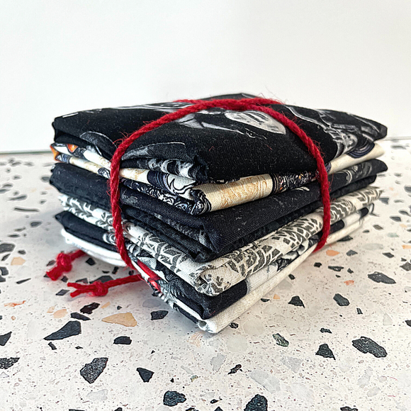 Born to Ride Fat Quarter Bundle - 7 FQ