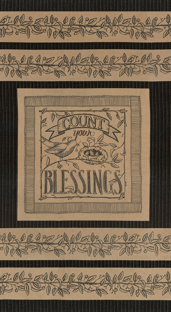 Count Your Blessings panel Moda Fabrics