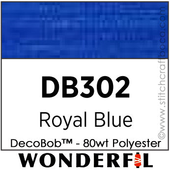 DecoBob 302 - Royal Blue