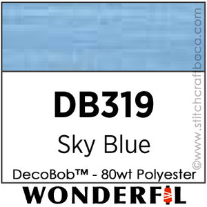 DecoBob 319 - Sky Blue