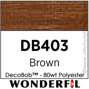 DecoBob 403 - Brown