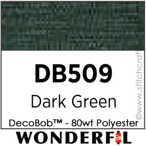 DecoBob 509 - Dark Green