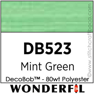 DecoBob 523 - Mint Green