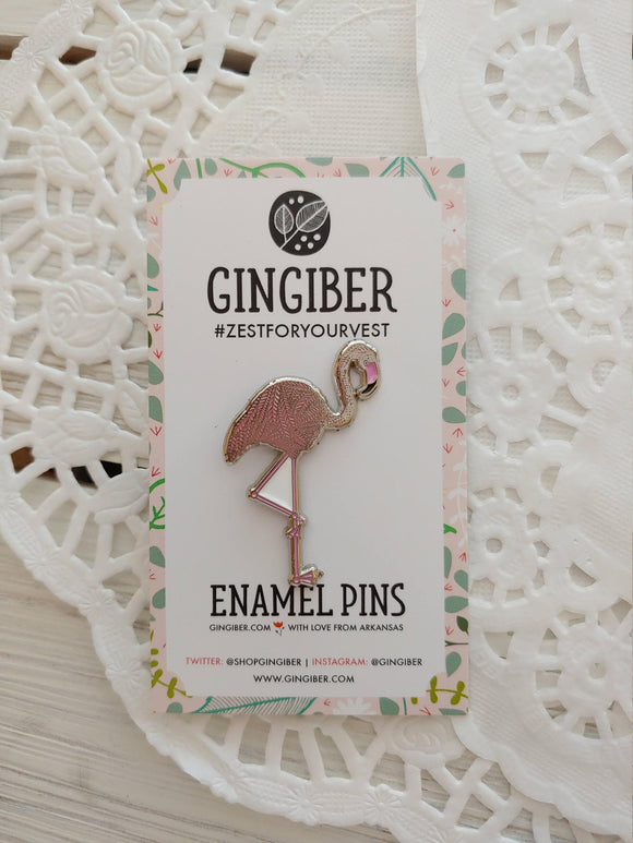 Flamingo Gingiber Pin