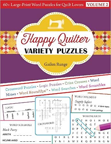 Happy Quilter Variety Puzzles