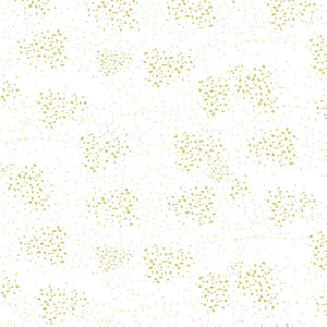Graceful Garden White/Gold Texture