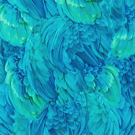Imaginings Tropical Feathers