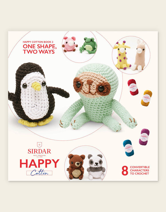 Happy Cotton One Shape Two Ways Book 2