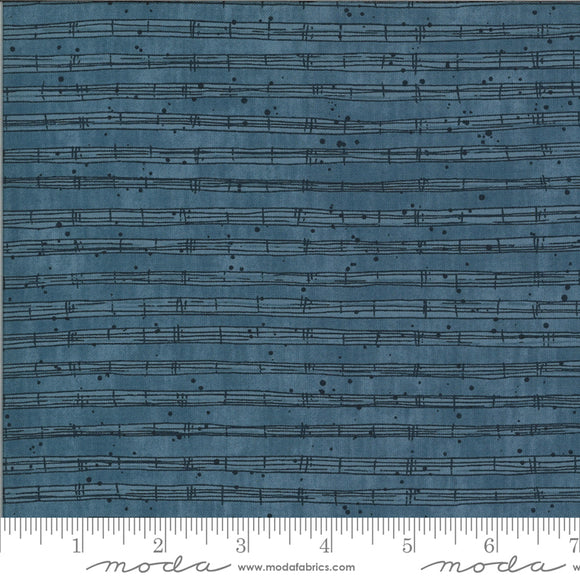 Stave Fitsgerald The Blues Janet Clare Moda Fabrics