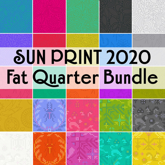 Sun Print 2020 Fat Quarter Bundle