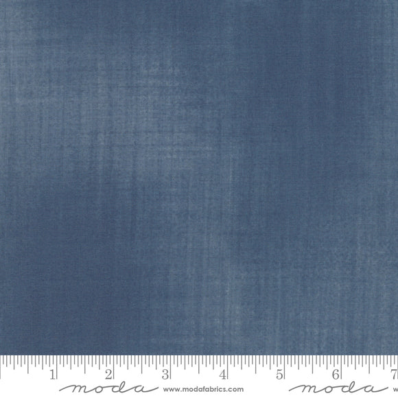 Woven Texture Fitsgerald The Blues Janet Clare Moda Fabrics
