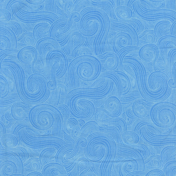 Just Color Swirl - Chambray