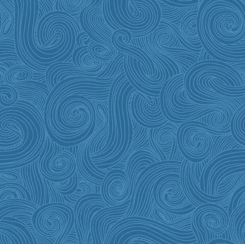 Just Color Swirl - Denim