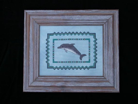 Dolphin Cross Stitch