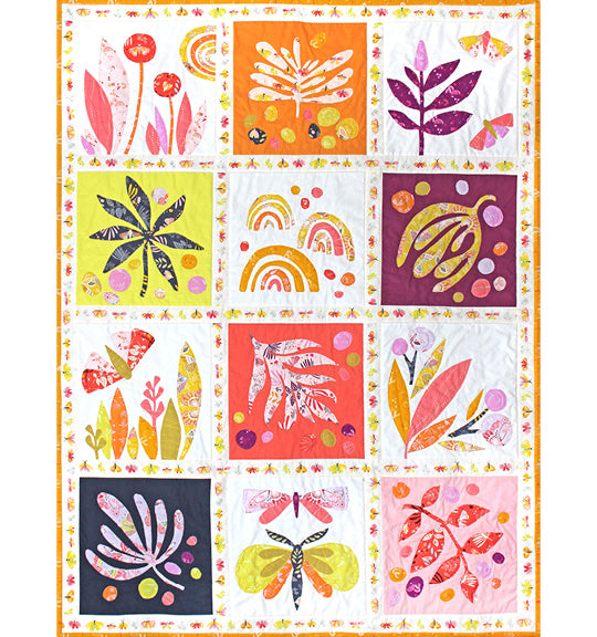 Lovely Day Quilt Kit by Tamara Kate