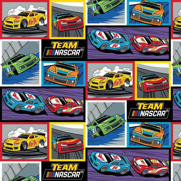 Nascar - Team Nacar Fabric