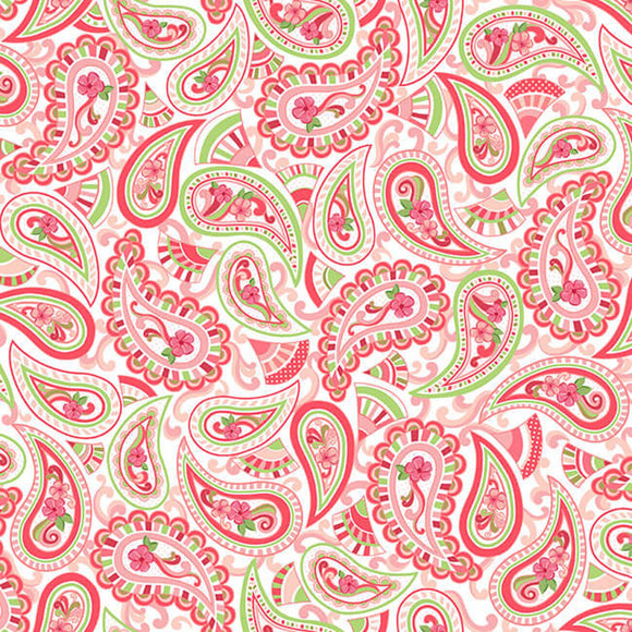 Let's Flamingle - Paisley Pink