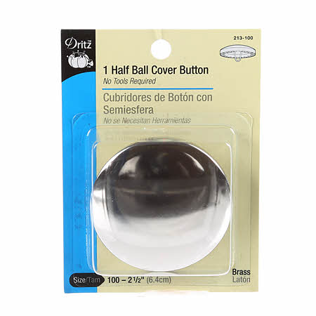 1 Half Ball Cover Button