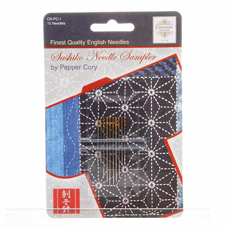Sashiko Needle Sampler 10ct