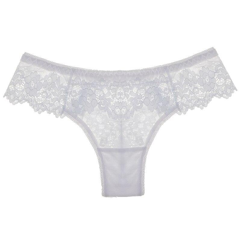 SP&CITY Sexy Panties Hollow Out Lace Women's Underpants Embroidery Seamless Thong Mid Waist Transparent Underwear Sex String - Shirt King Shop