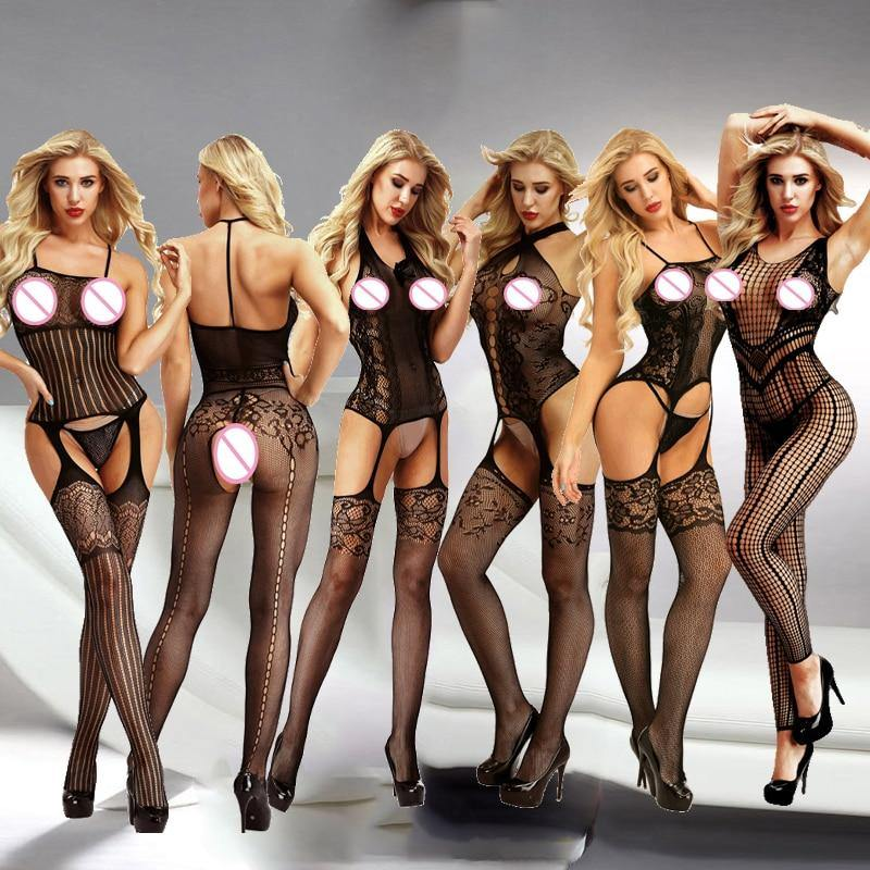 Sexy Lingerie Porno Sexy Costumes Erotic Langerie Lenceria Mujer Transparent Plus Size Women Sexy Hot Erotic Lingerie Qq345 - Shirt King Shop