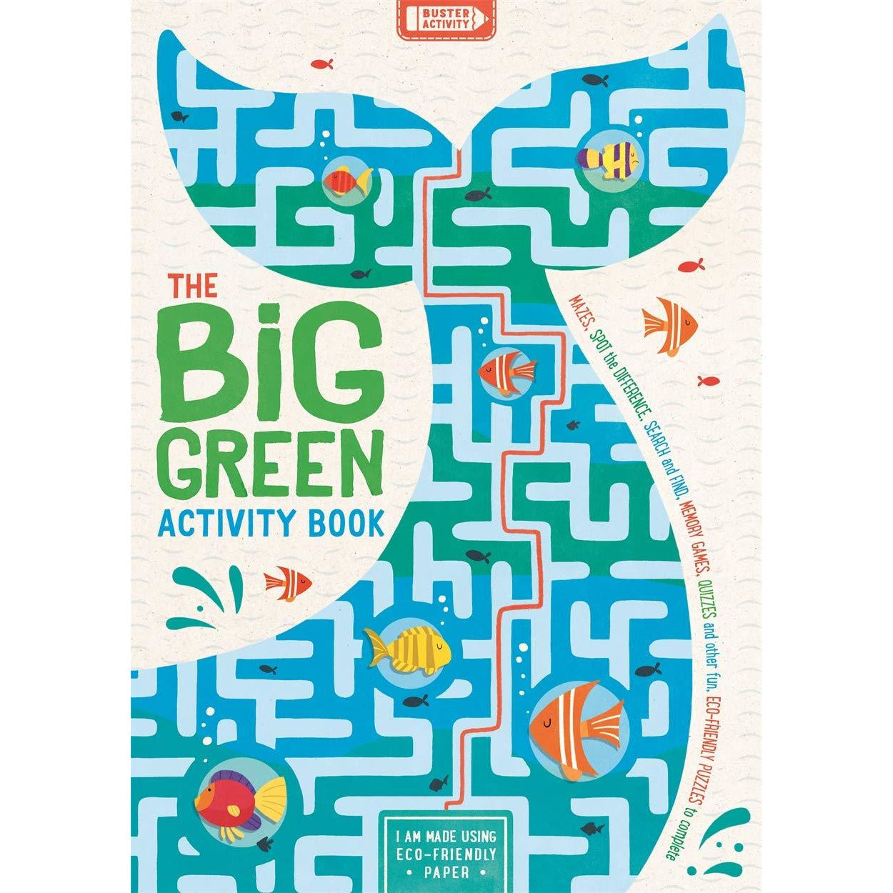 The Big Green Activity Book - Beautykind
