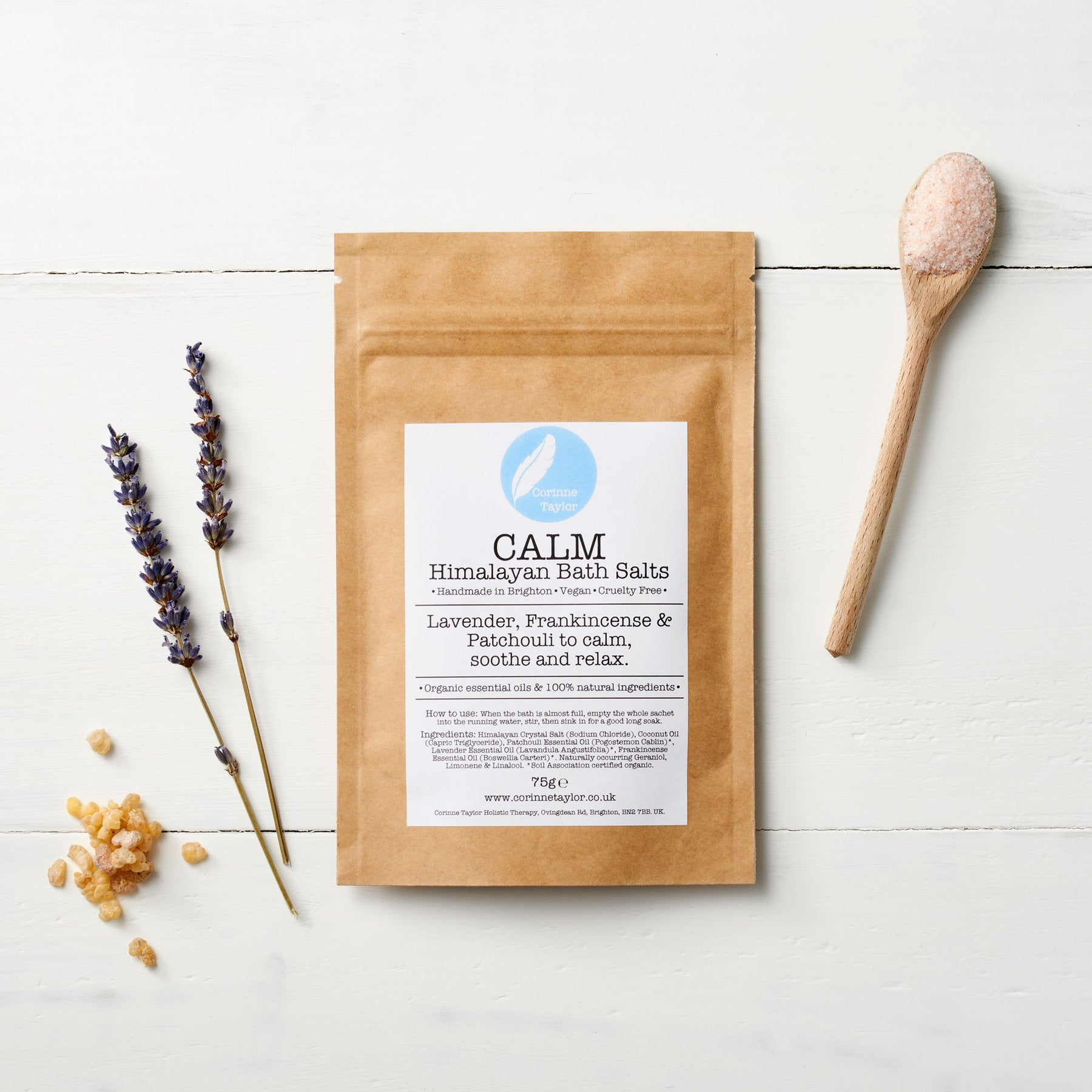 Calm Himalayan Bath Salts (75g) - Beautykind