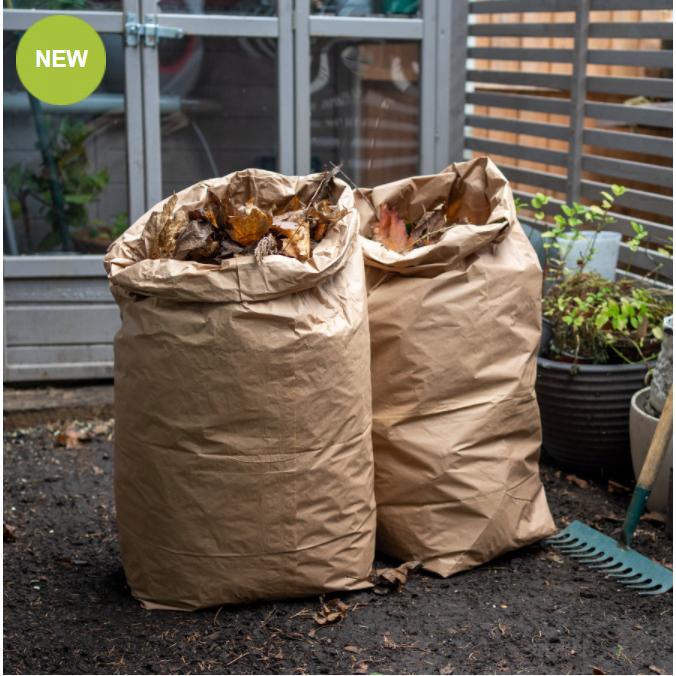 Compostable Garden Waste Bags (Pack of 5)