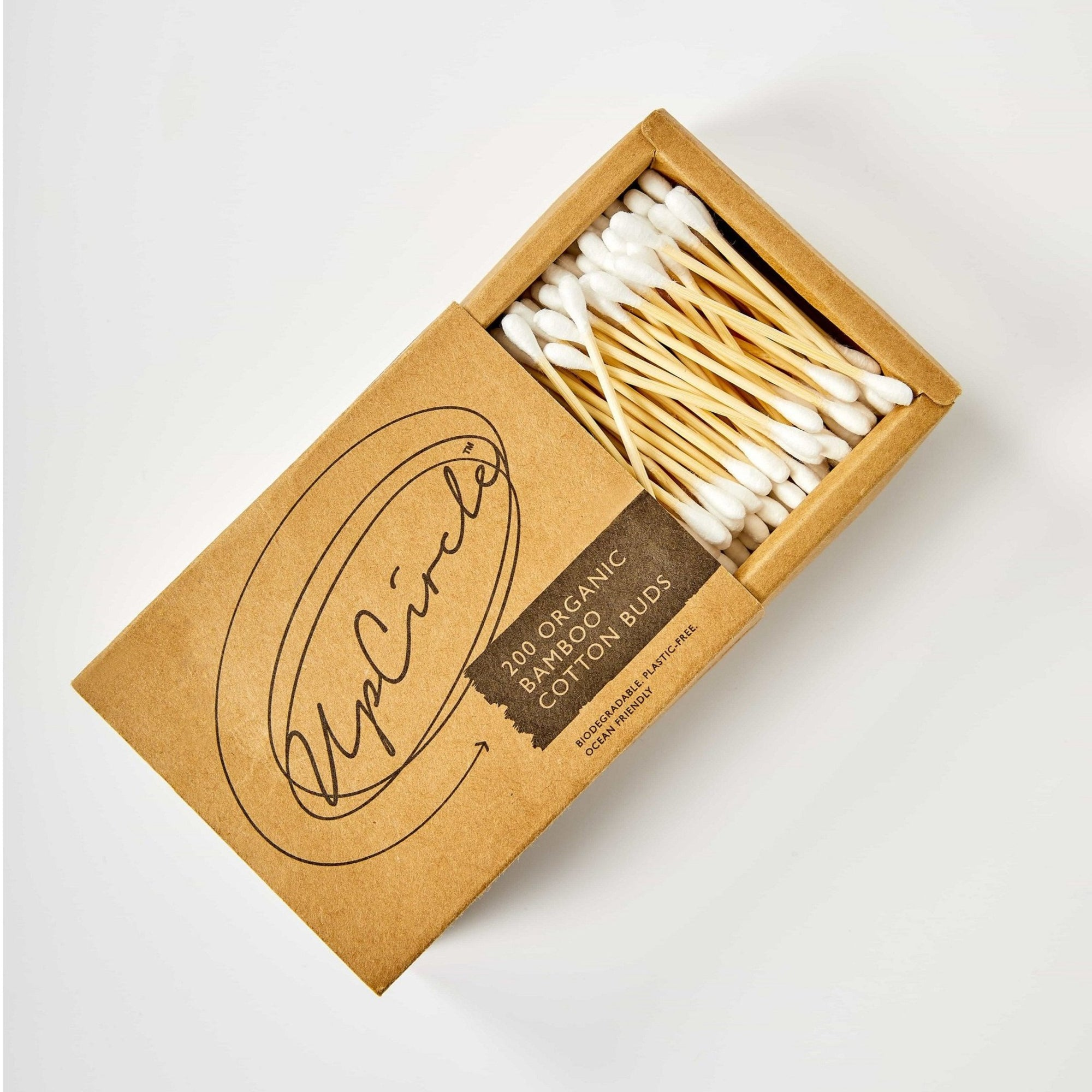 200 Organic Bamboo Cotton Buds - Beautykind