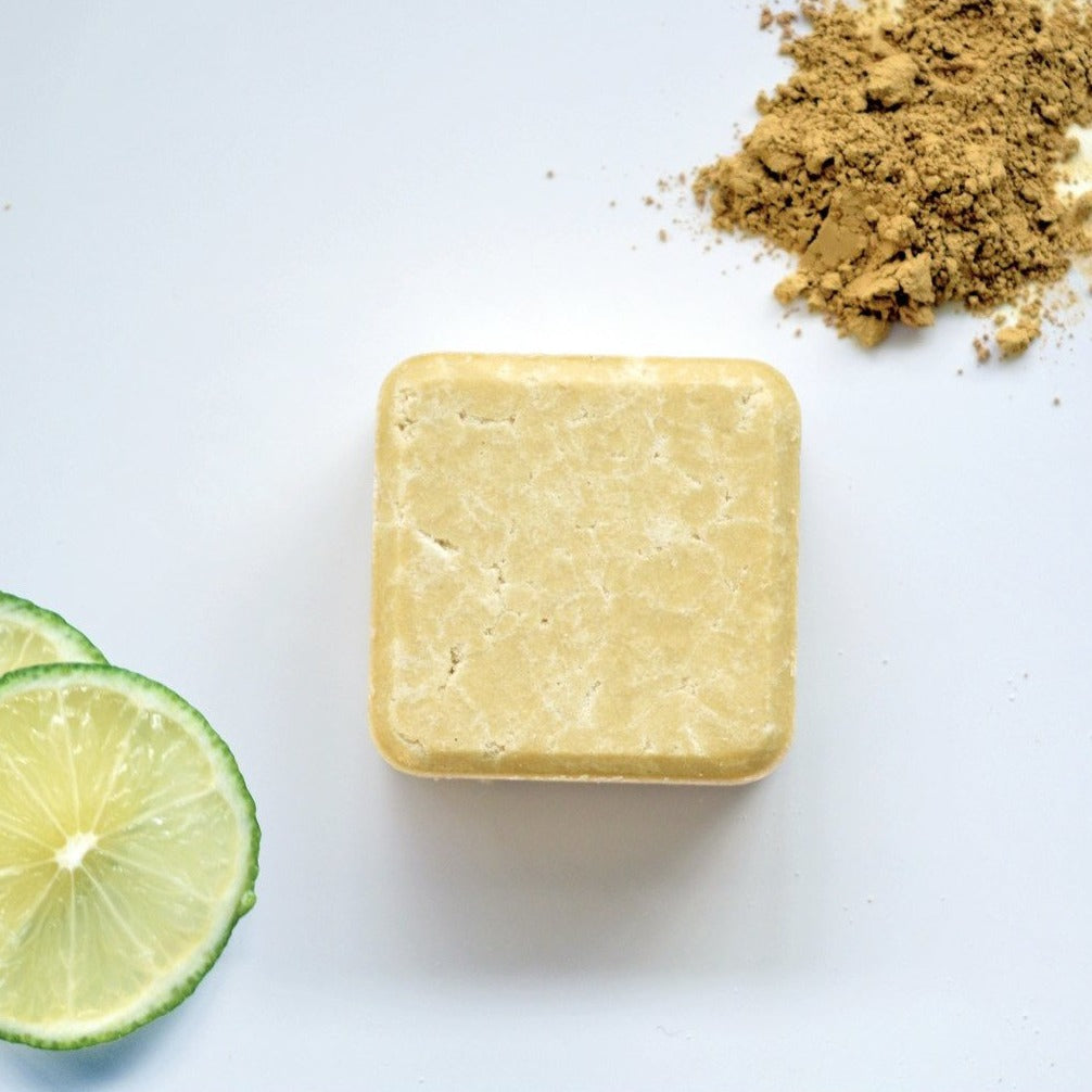 2in1 Shampoo & Conditioner Bar For Dry + Curly Hair (70g) - Beautykind