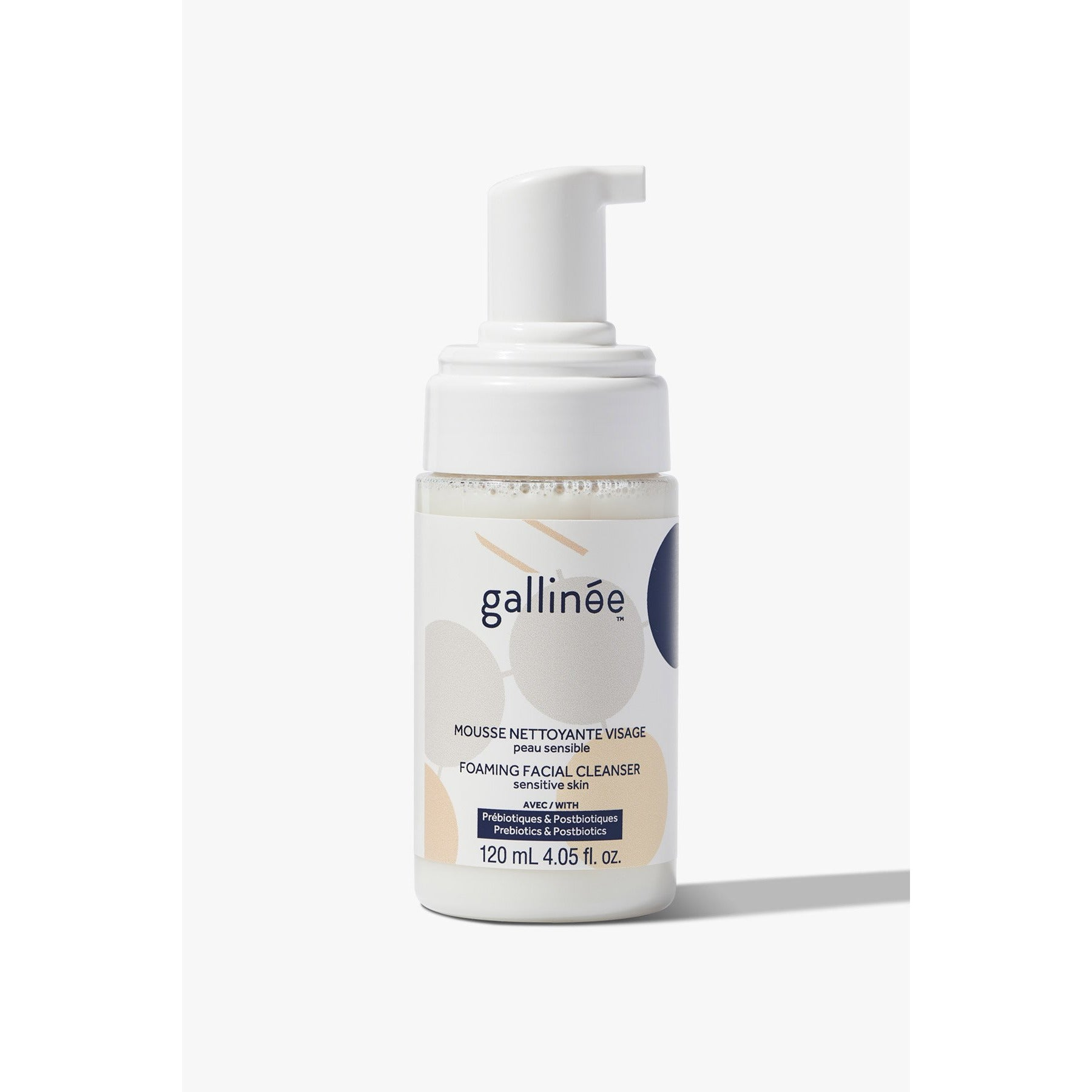 Prebiotic Foaming Facial Cleanser (120ml) - Beautykind