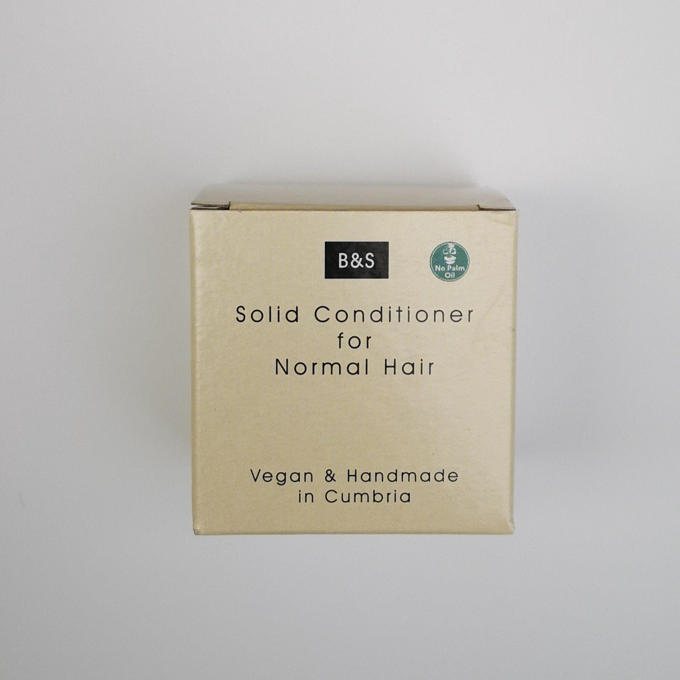 Solid Conditioner Bar For Normal Hair (105g) - Beautykind