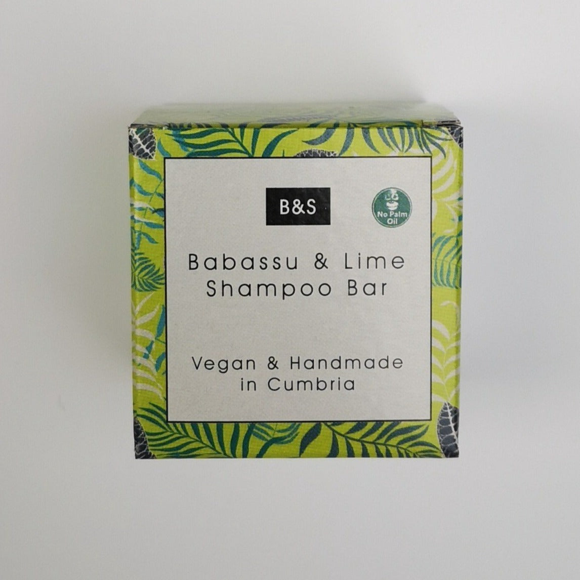 Babassu & Lime Shampoo Bar (130g) - Beautykind