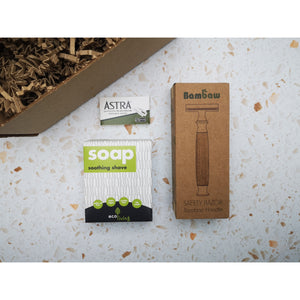The Bamboo Shaving Gift Set - Beautykind