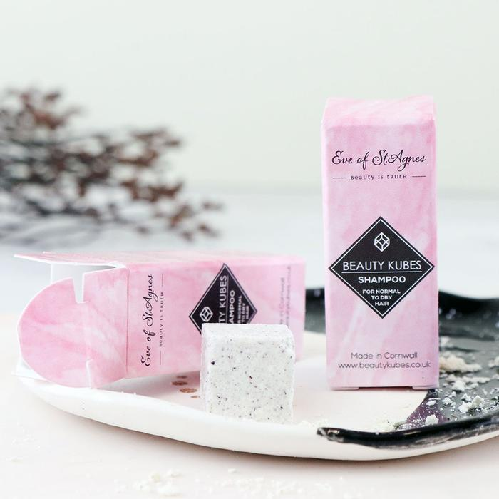 Solid Shampoo Kubes Sample For Normal To Dry Hair (3 Washes) - Beautykind
