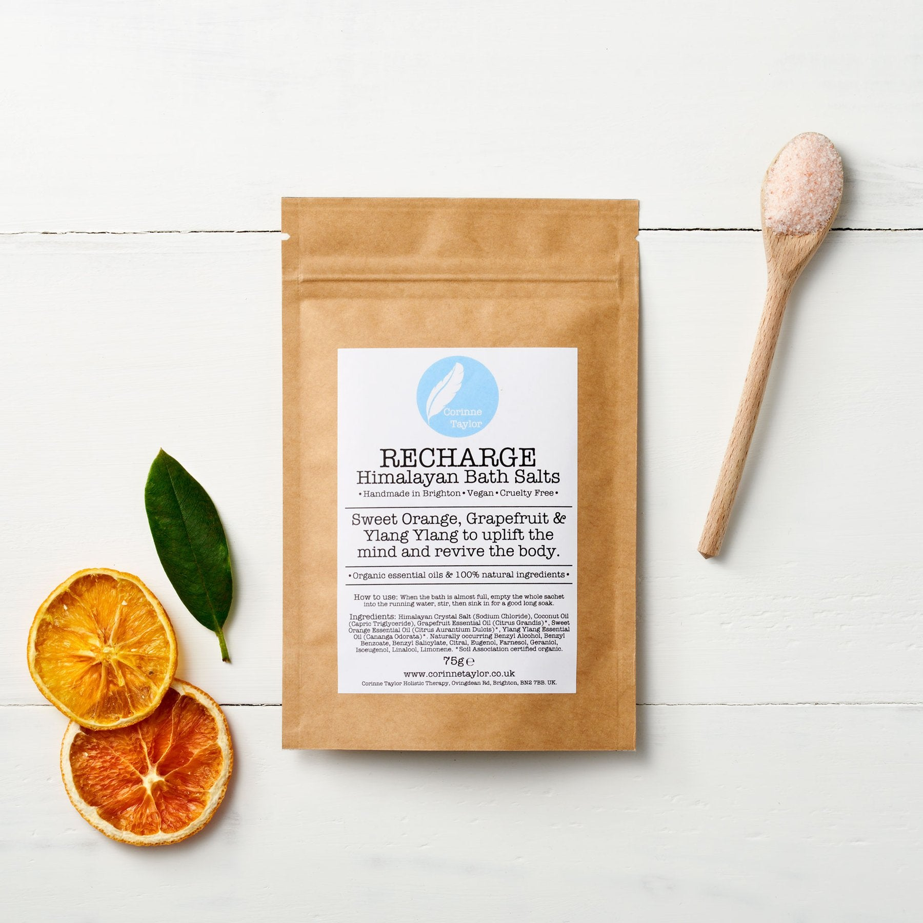 Recharge Himalayan Bath Salts (75g) - Beautykind