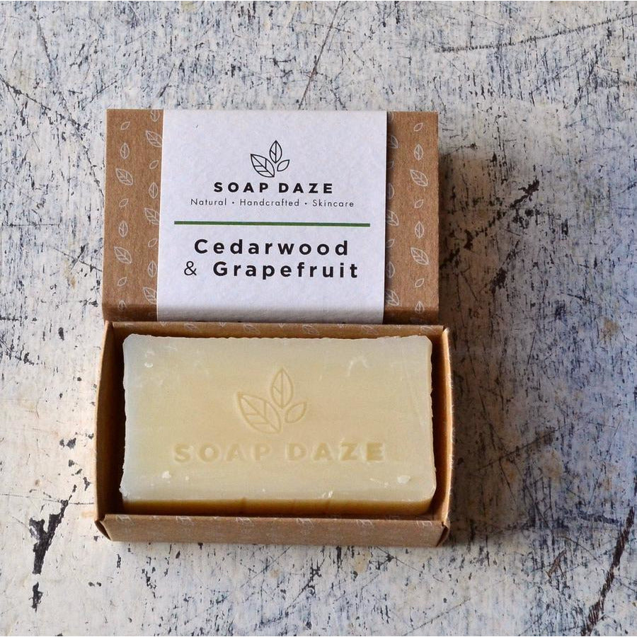 Cedarwood & Grapefruit Soap (112g) - Beautykind