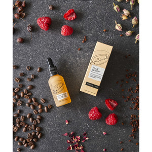 Organic Face Serum With Coffee Oil (30ml) - Beautykind
