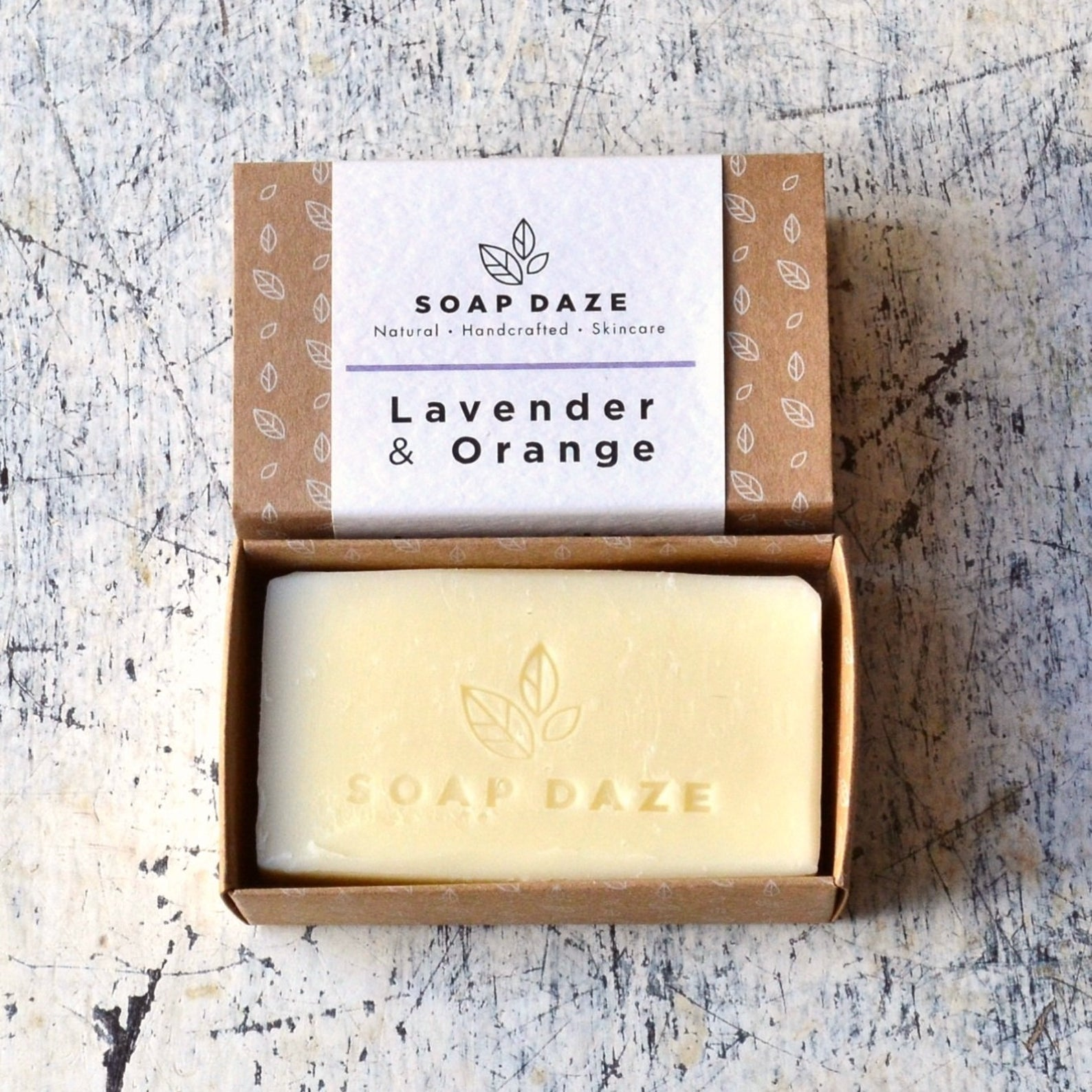 Lavender & Orange Soap (112g) - Beautykind