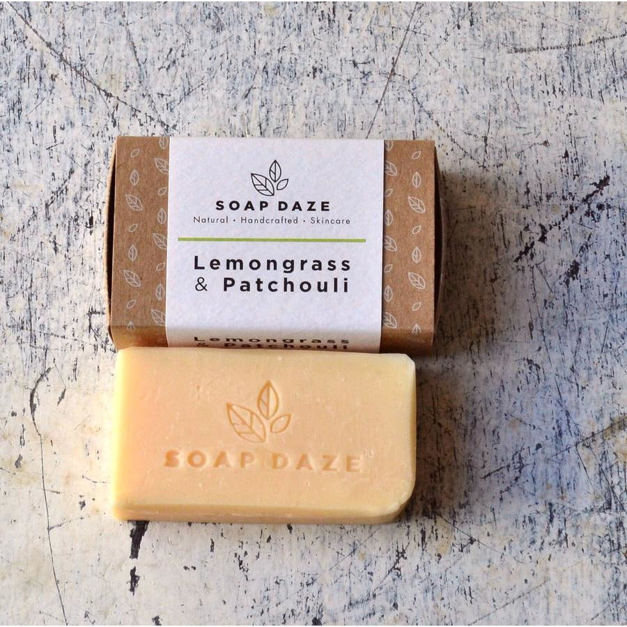 Lemongrass & Patchouli Soap (112g) - Beautykind