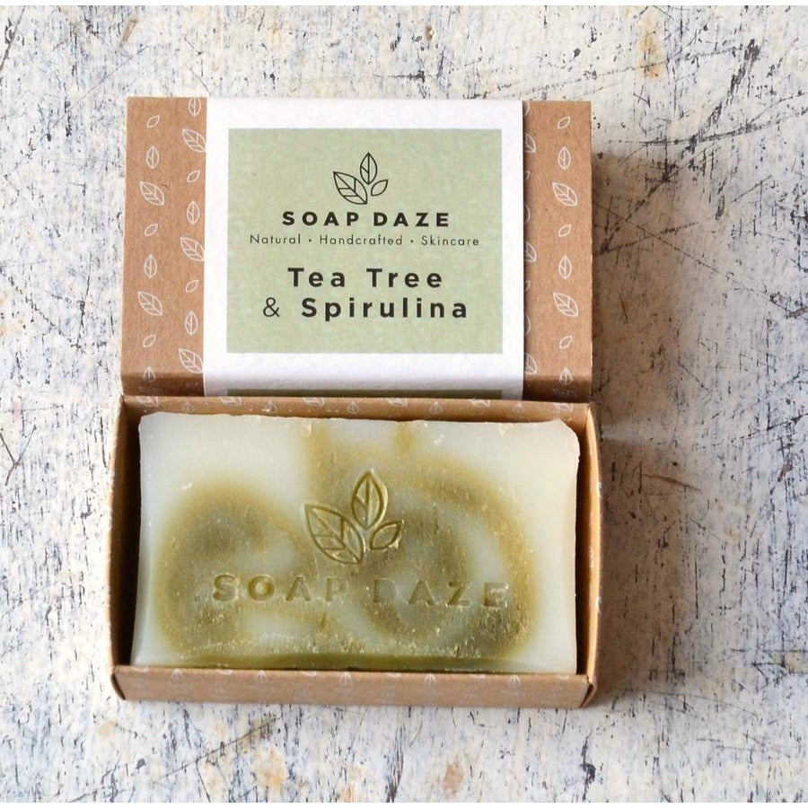 Tea Tree & Spirulina Soap (112g) - Beautykind