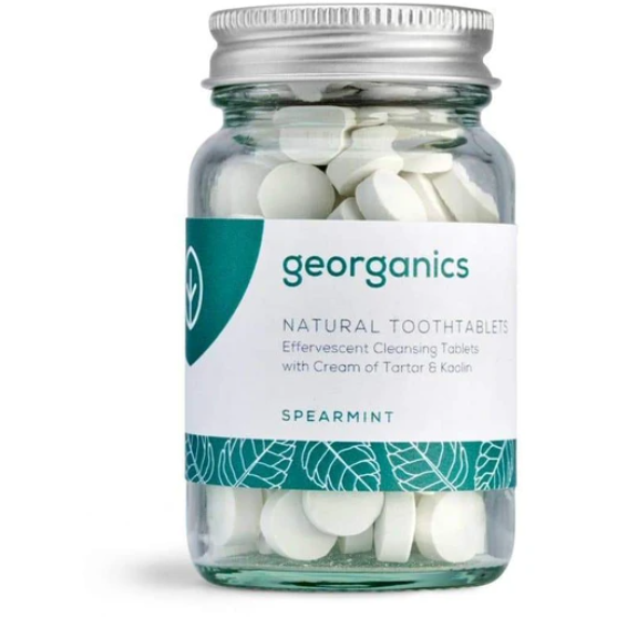 Spearmint Toothpaste Tablets (120 Tablets) - Beautykind