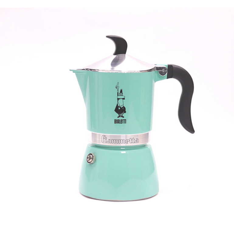Bialetti Moka Pot Fiammetta Artic Lights 3 Cup