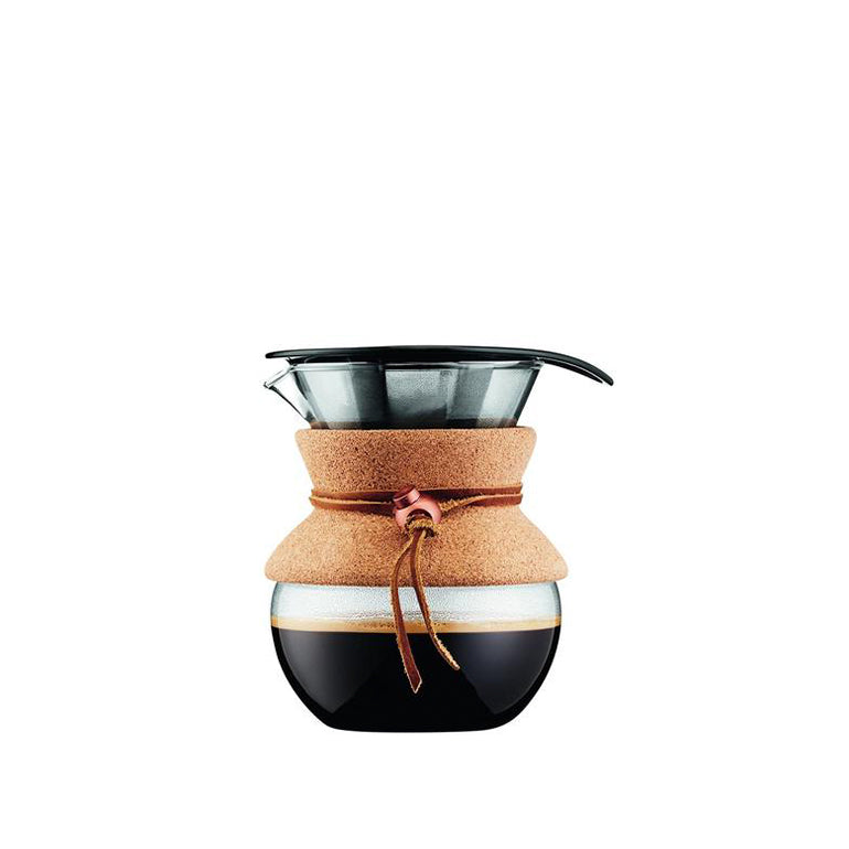 Pour over 4 cup Metal Filtre 500ml