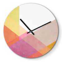 Wanduhr – Color Reflection - 30cm