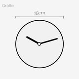 Mini Wanduhr – Big Numbers - 15cm