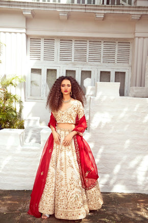THE TANCHOI GOLD LEHENGA  LG 24