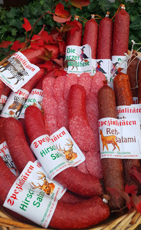 Wildangebot groß - 4 Wildsalami
