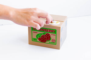 Mischief Saving Box - Strawberry Cat