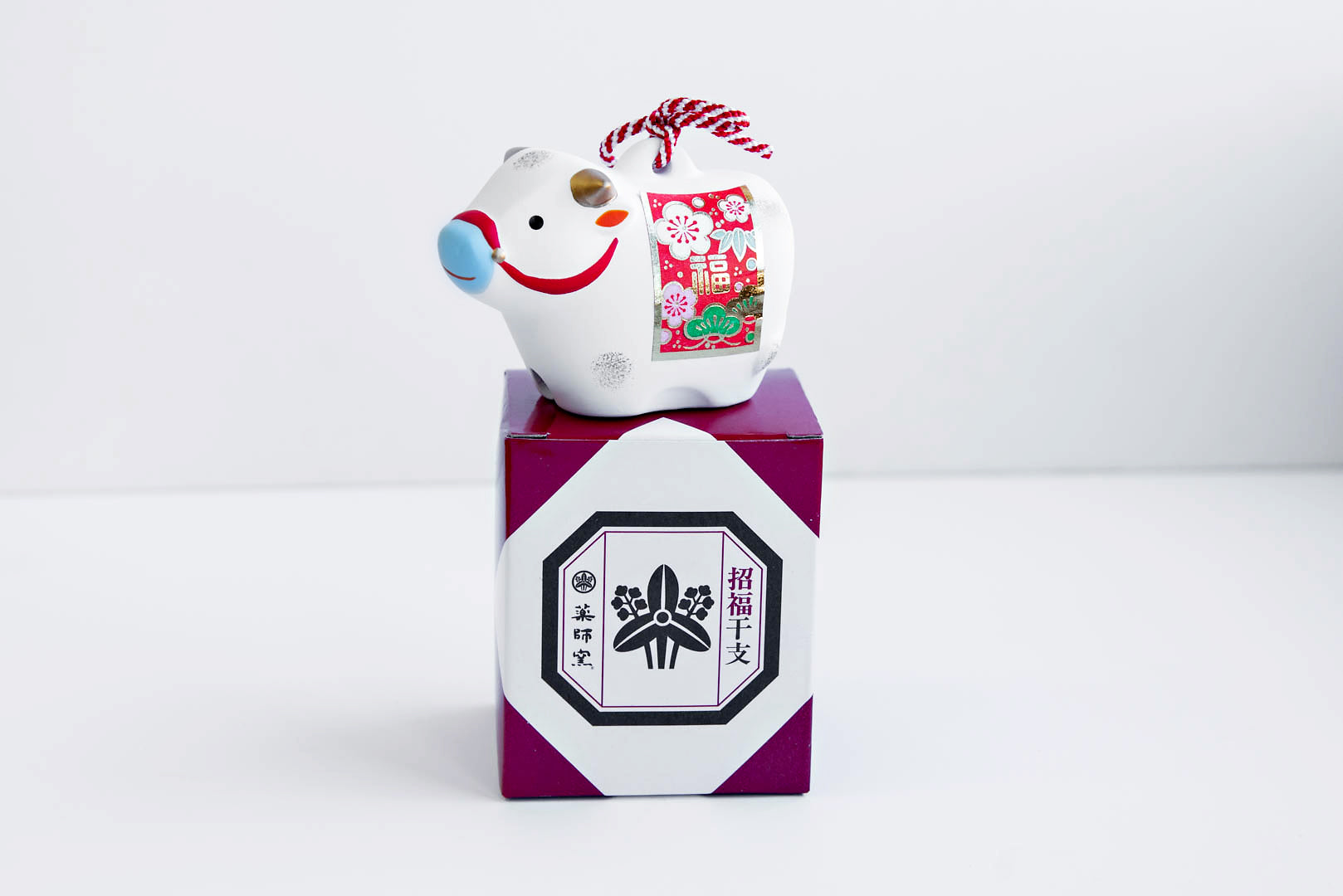 Year of the Ox Figurine (White)